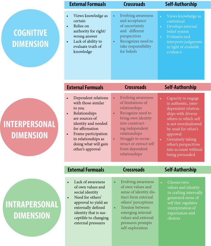 Self-Authorship - 4
